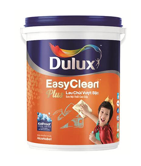 Sơn Dulux Easy Clean Plus lau chùi vượt bậc