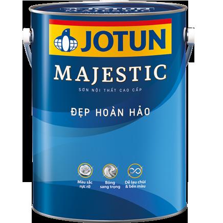 """Sơn Jotun Majestic Đẹp Hoàn Hảo """"bóng"""""""