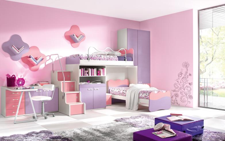Màu sơn phòng ngủ đẹp cho bé gái - VLXD Á Châu tại Nghệ An