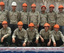 Nhà thầu thi công sơn tại Nghi Sơn - Thanh Hóa   SĐT: 0913638086