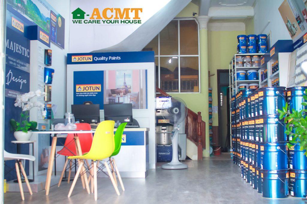 Vật Liệu Tốt Á Châu nhà phân phối sơn chính hãng tại Vinh